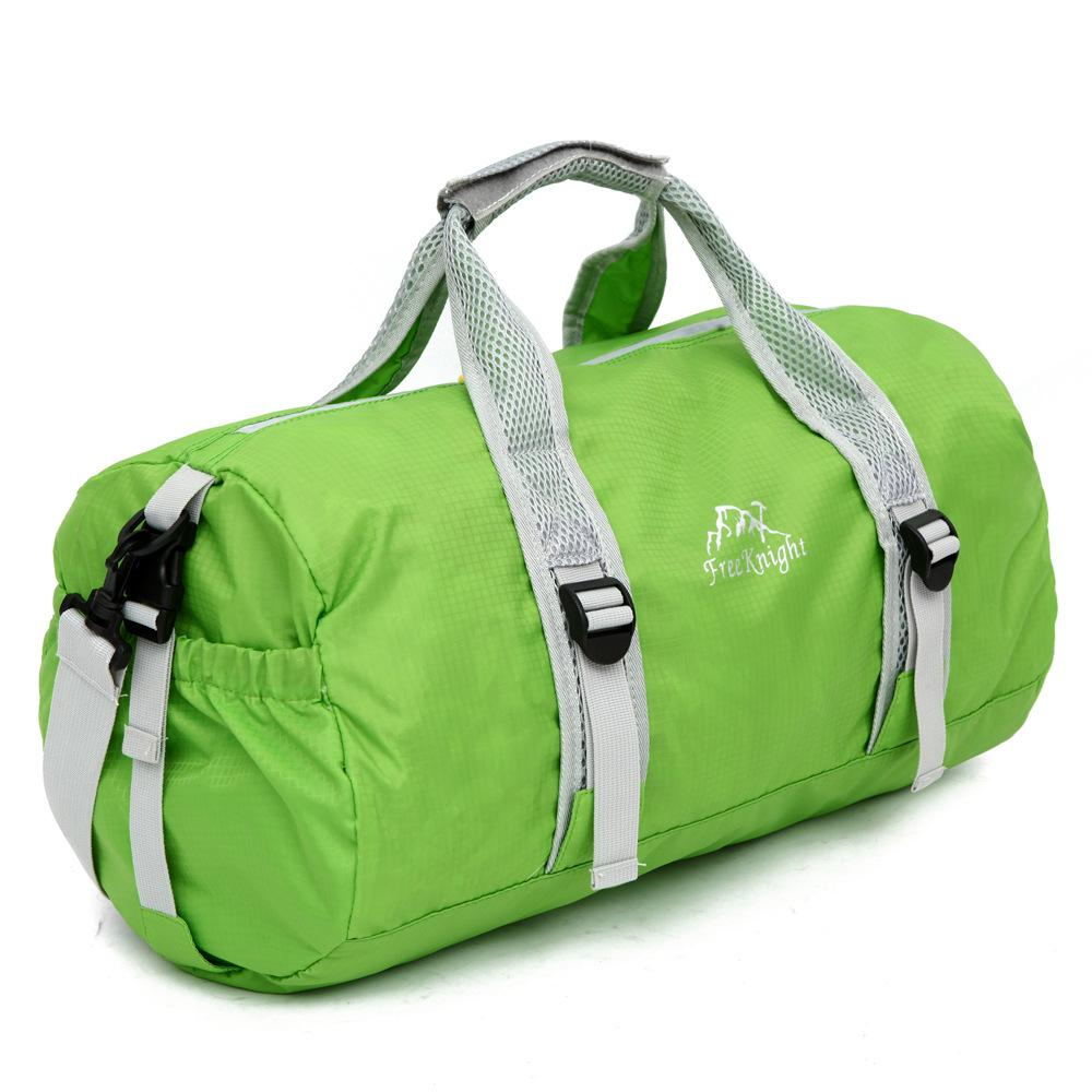 5847b72986 Foldable Waterproof Nylon Travel Bag Large Capacity Men Hand Luggage Travel  Duffle Bags Women Multifunctional Bags Wheeled Duffle Bags Carry Bags From  ...