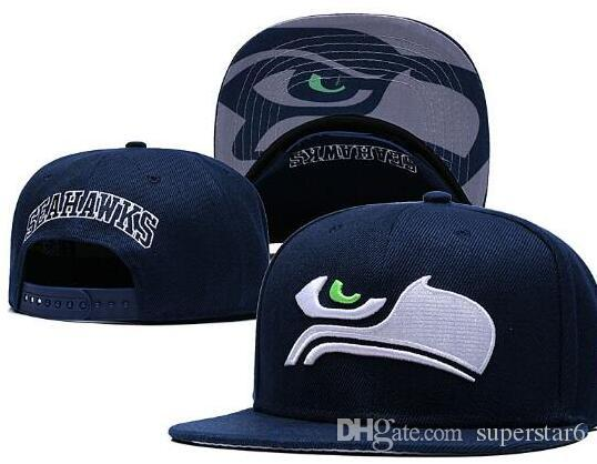883fe3a16 Hot Sale Seattle America Sports Snapback Sea All Teams Baseball Football  Hats Hip Hop Snapbacks Cap Adjustable Sports Hats 00 Bow Tie Pasta Recipes  Cat Bow ...