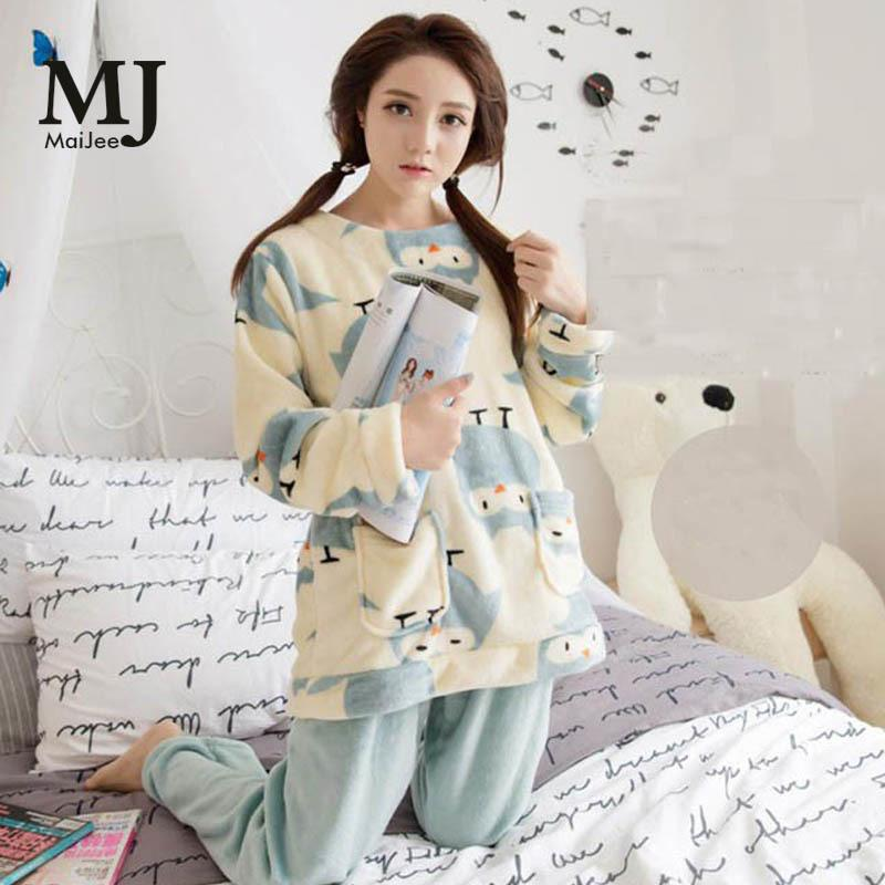 e82cc6c565 2019 XXL Big Size Flannel Winter Women Pajama Sets Pijama Mujer Plus Size  Pyjamas Feminino Pink Pajamas Pyjamas Women Sleepwear D18110502 From  Shen8403