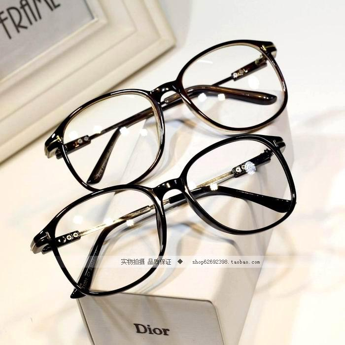 ea075cc137e0 No Degree Glasses Full Frame Men And Women Fashion Retro Big Box ...