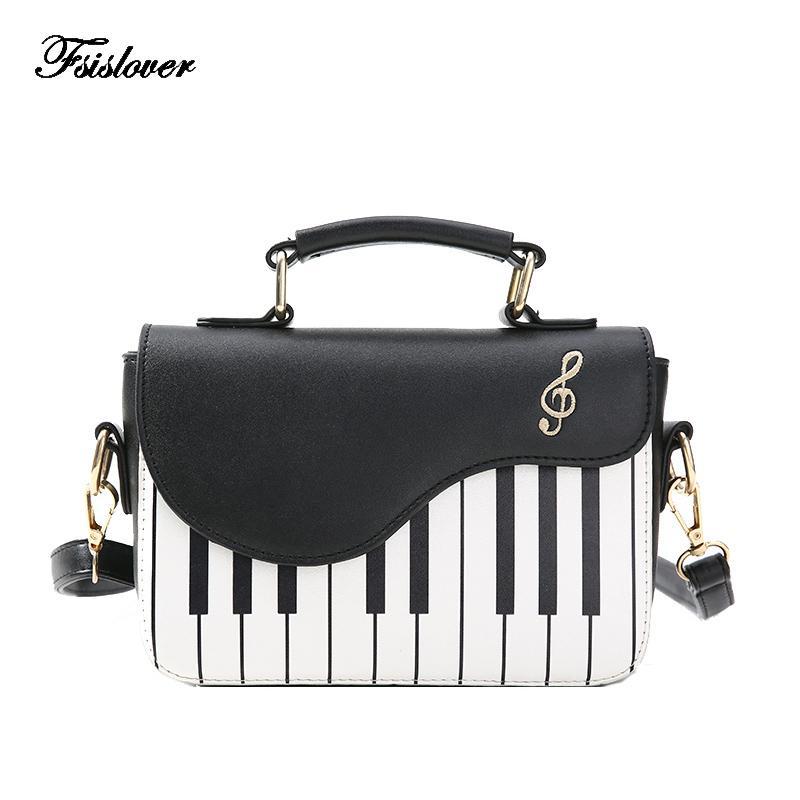 f44ab9b202 Acheter 2018 Nouveau Mode De Luxe Femmes Sac À Bandoulière Dames Clés Piano  Designer Sacs À Main Embrayage Sac Femelle Broderie Bandoulière Messenger  Sac De ...