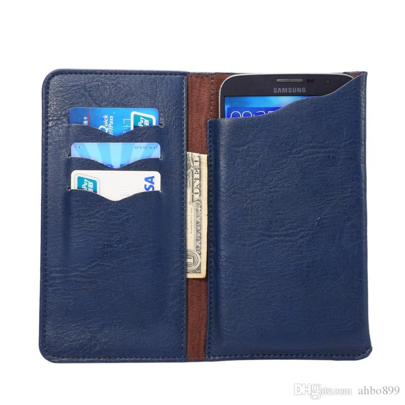 for Acer Liquid Z530 Universal Elephant Pattern PU Leather Wallet Sleeve Pouch Case for Acer Liquid Z530