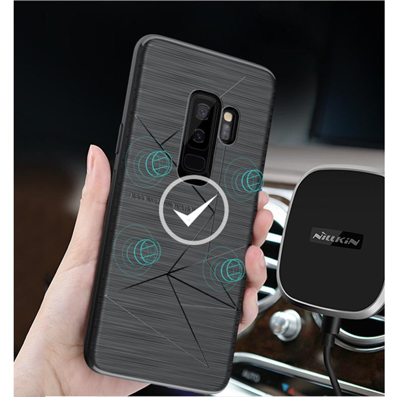 meet 9fcbf ba7a5 For Samsung Galaxy S9 S9 Plus Case NILLKIN QI Wireless Charging Receiver  Case FOR Galaxy S8 plus S8 Work with Qi wireless charger