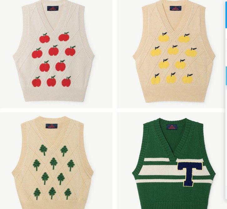 a06ba24ed KIDS VEST 2018 Spring TAO BOBO CHOSES Pullover V Neck Knitted Baby Girls  Boys Vests Tank Coat Children Cotton Sleeveless Sweater Sweater Design  Patterns For ...