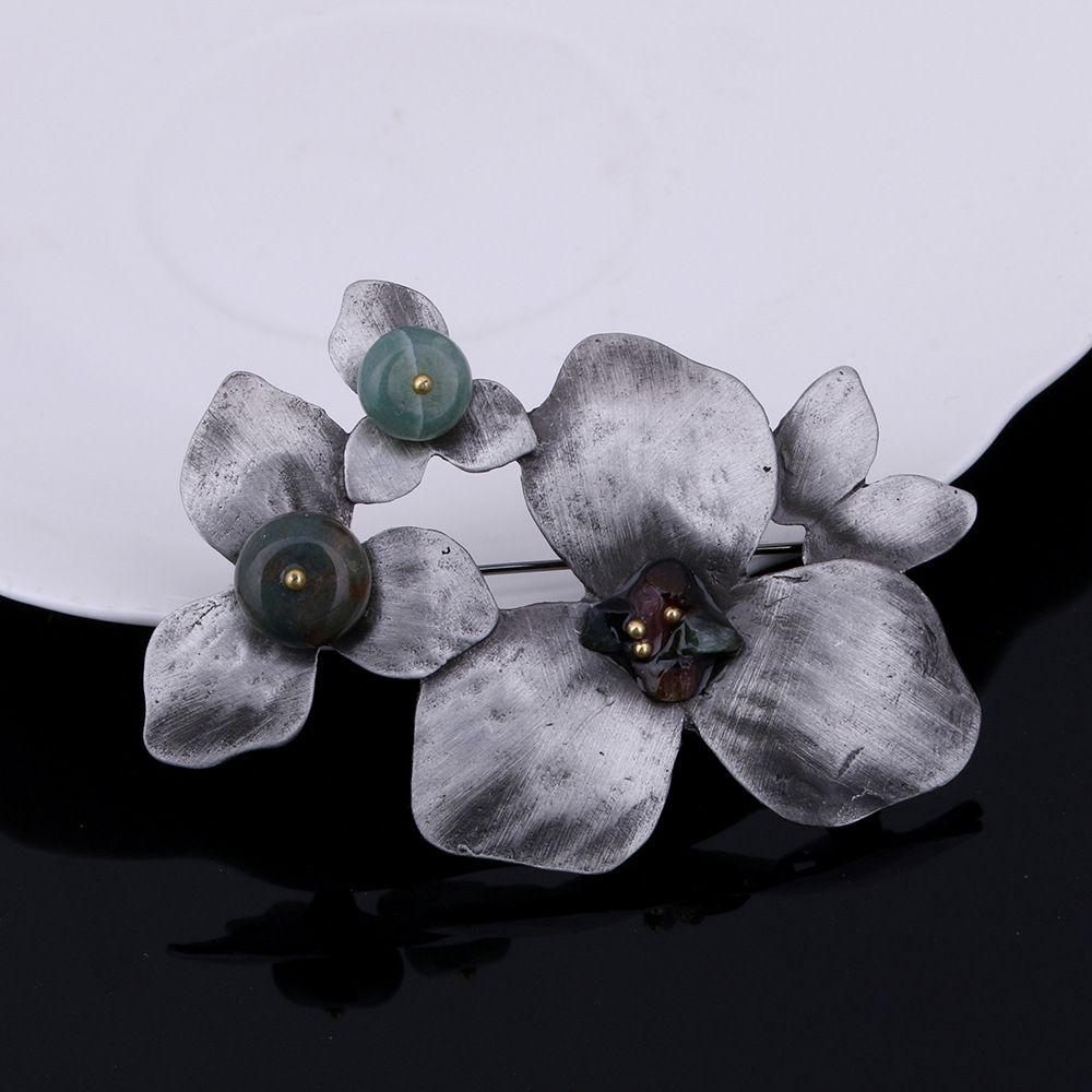 Mode Persönlichkeit Elegant Clover Boutonniere Kleidung Zubehör Geschenk für Frauen und Männer YP3289