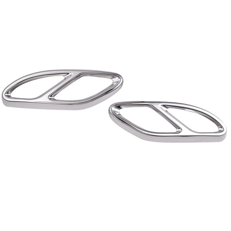 acciaio lucido finitura trim copertura Mercedes Benz GLC A B C Classe E C207 Coupe 2014-2017 W212 W213 W205 X253 C180 C200 Parte Car Styling