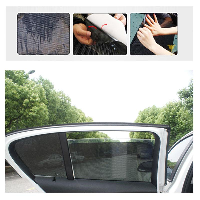 Car styling uv sticker car sunshade electrostatic stickers auto supplies sun block sun shading stickers 4238cm toning for cars sun protection car window