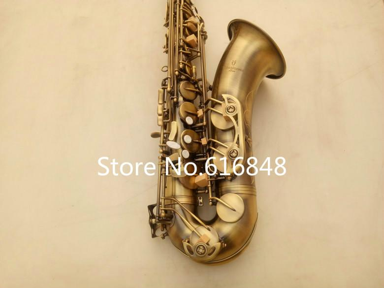 2018 New Arrival Musical Instrument YANAGISAWA T-992 Tenor Saxophone Brass Tube Antique Copper Surface Bb Tone Sax With Mouthpiece