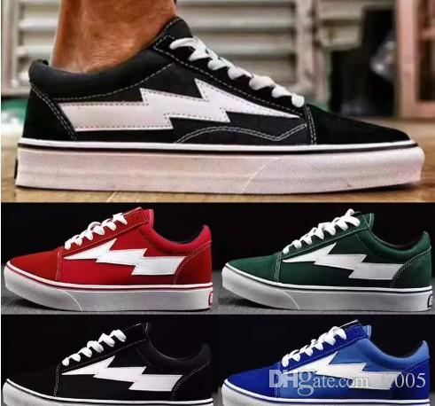 Revenge X Storm old skool Classic black white red blue green light men and women Casual Shoes sneakers skateboard shoes size36-44 with paypal free shipping under $60 for sale exclusive for sale mY12pa2OzR