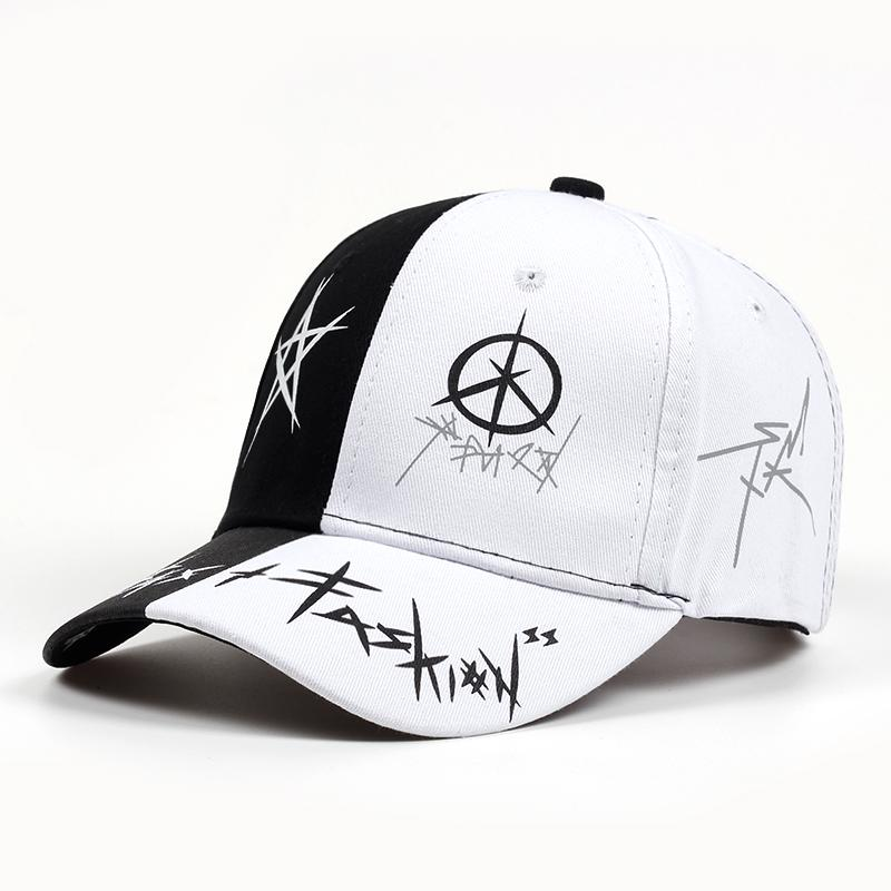 2018 New Summer Baseball Cap Graffiti Sun Caps Hip Hop Visor Spring ... 524b0fc8301a