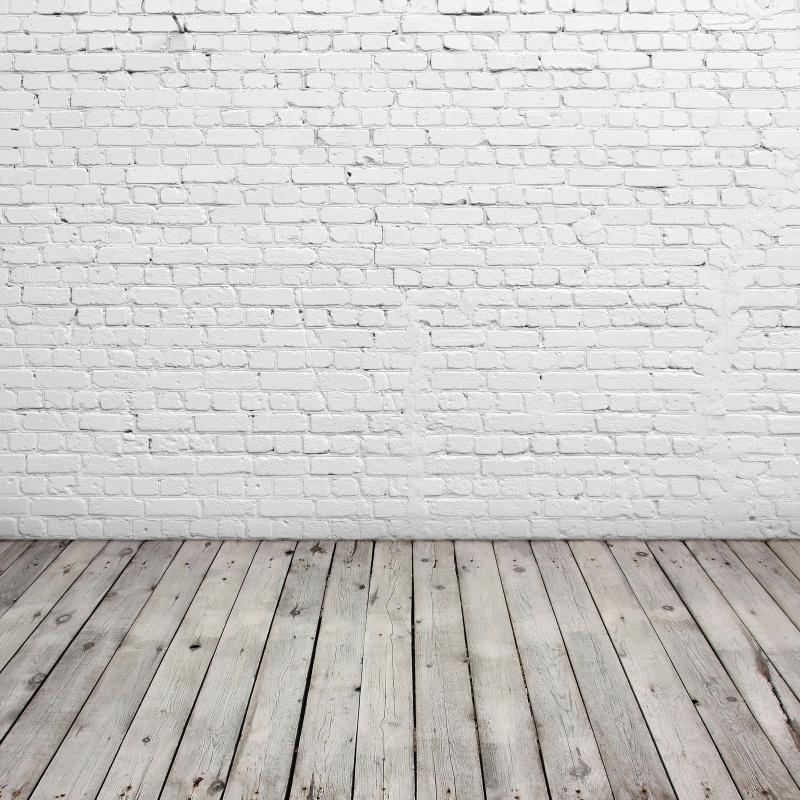 Acheter Laeacco Mur De Briques Blanc Plancher En Bois Portrait Photographie  Arrière Plans Personnalisé Toile Photographique Pour Photo Studio De $37.91  Du ...