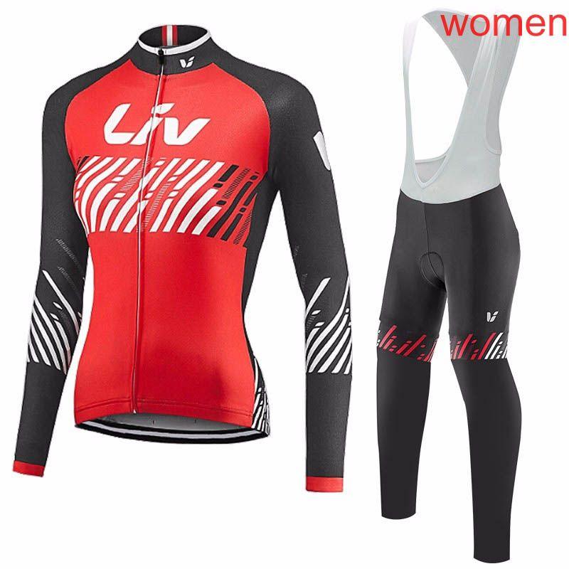 Das LIV Team, das lange Hülsenjersey Schellfisch radfährt, keucht die Sätze, die Jersey Frühlings-Herbstsportklage radfahren Heiße Verkaufs-Fahrrad-Kleidung c1411