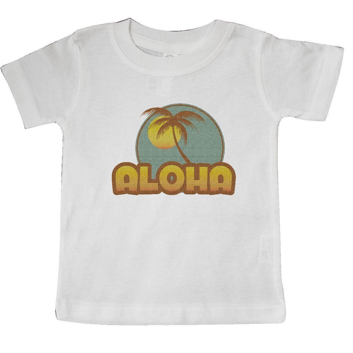 19146b13b Inktastic Aloha Palm Baby T Shirt Hawaii Hula Island Mahalo Maui Tree Beach  Fun Funny Unisex Casual Tee Gift Funny Tee Shirts Mens T Shirt From  Tee_spirit, ...