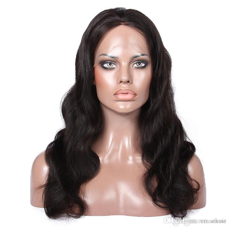 100% Human Hair Full Lace Wigs With Baby