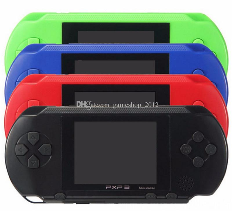 Portable PXP3 16 bit 2.7 inch Game Player Digital Pocket Video Game Console System TV Out Games Free DHL