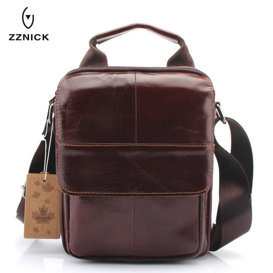 40ccd9591f ZZNICK 2018 New Arrival Fashion Business Leather Men Messenger Bags Small  Crossbody Shoulder Bag Casual Man Bag 3681  Bags For Women Cheap Designer  Bags ...