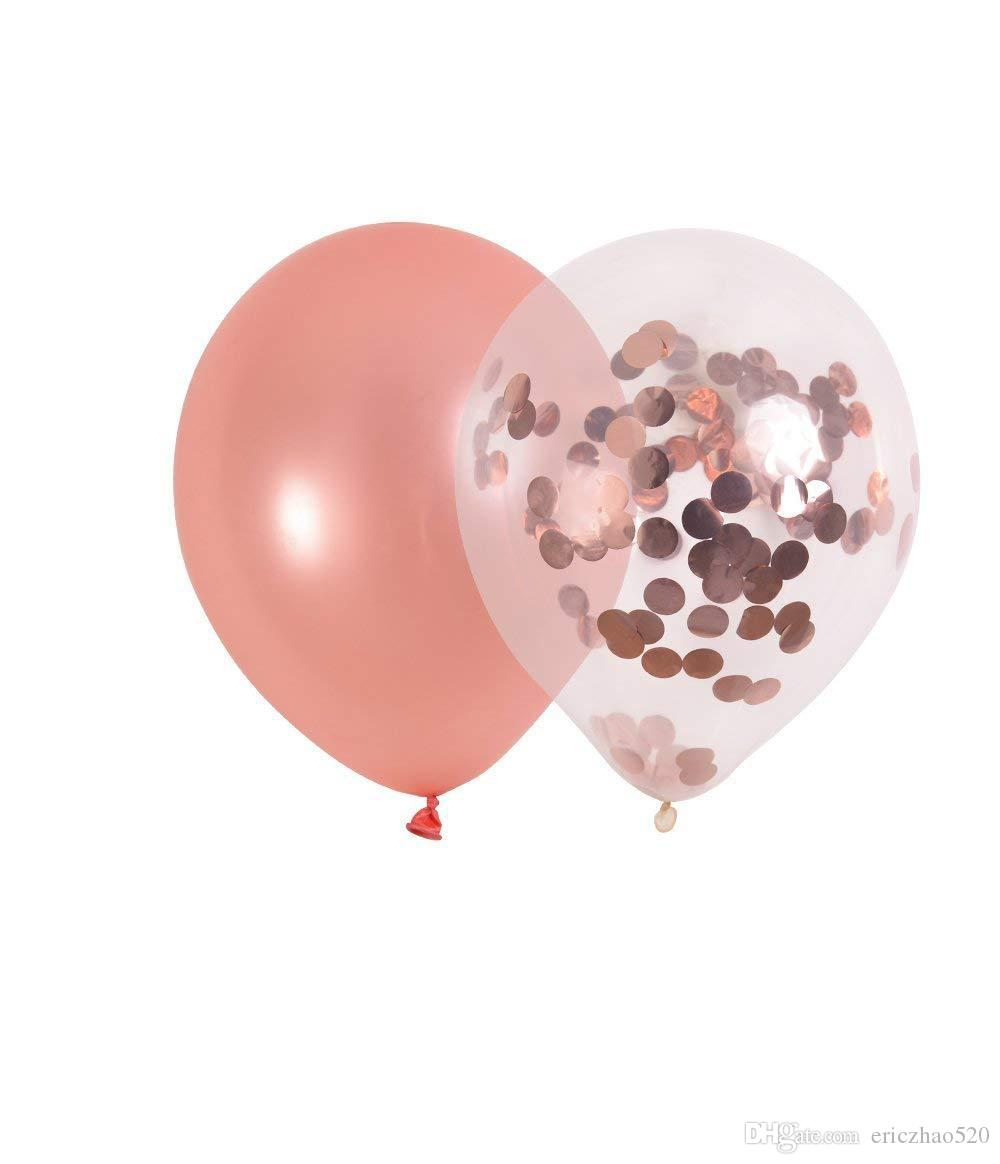 Cheap Price 10 inch Rose Gold Latex Child Balloon set for Wedding Birthday  2 8 g Scrap Balloons High Quality Party Ballons set
