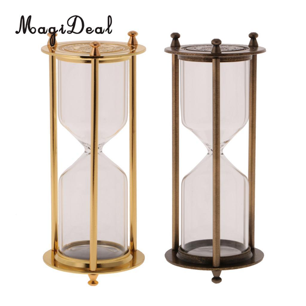 2018 Retro Metal Empty Hourglass Sandglass Sand Timer Home Office Table  Decor Gold U0026 Bronze From Isaaco, $40.64 | Dhgate.Com