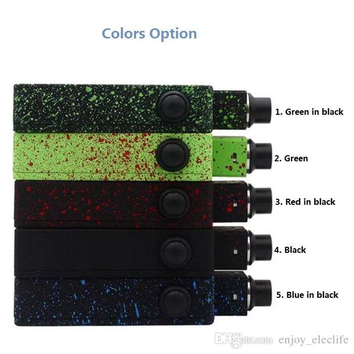 Renkli tuglyfe Modsuz RBC Rize Tugcefe Taşınabilir kutu mod Buharlaştırıcı ile Rastgele mod Cubed RDA Mekanik Tugcefe Römorkör Mod Mod Takımı.