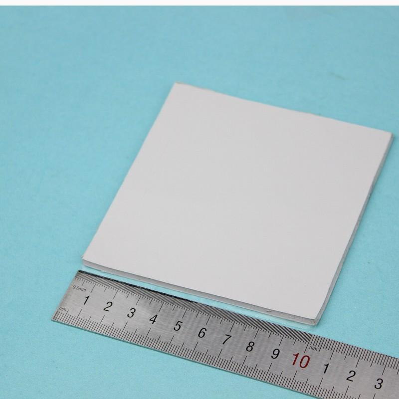 2 Pcs Gdstime 100mm x 3mm Thickness Thermal Pad 100x100mm Heatsink Cooling  Conductive Silicon Pads for GPU CPU Chipset 100x3mm
