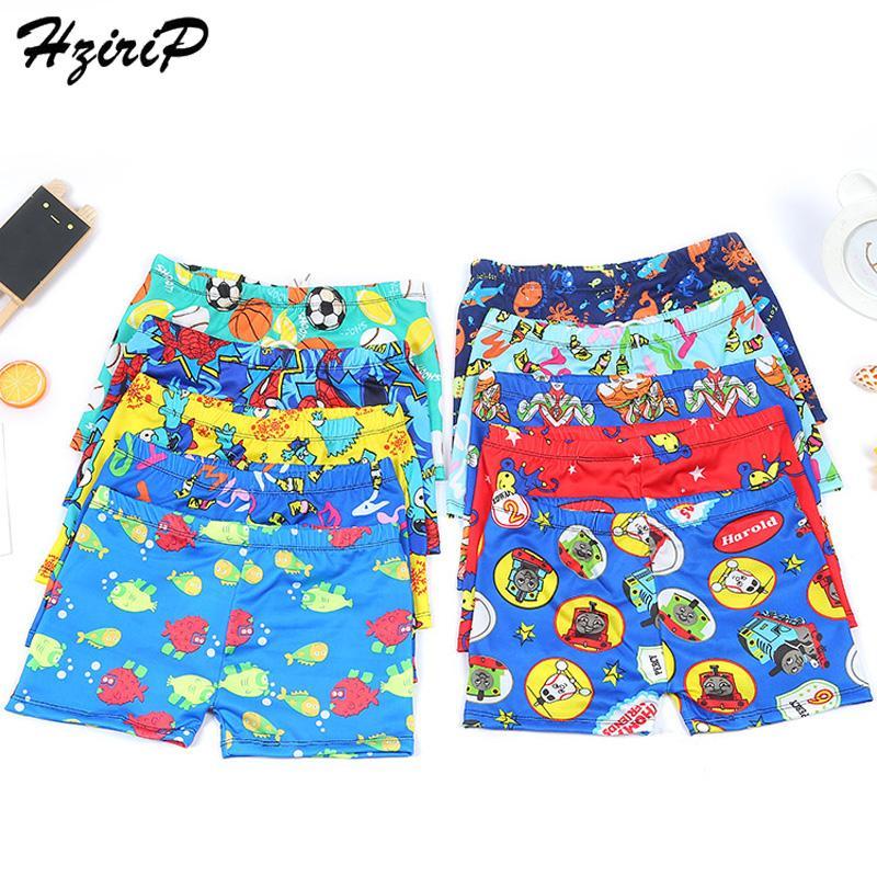 7b694d78fe633 2019 HziriP Hot Kids Baby Swimwear Boy Board Shorts Flat Angle Printing  Fashion Swimming 2018 Swim Baby Boys Swimwear Large Size From Fkansis, ...