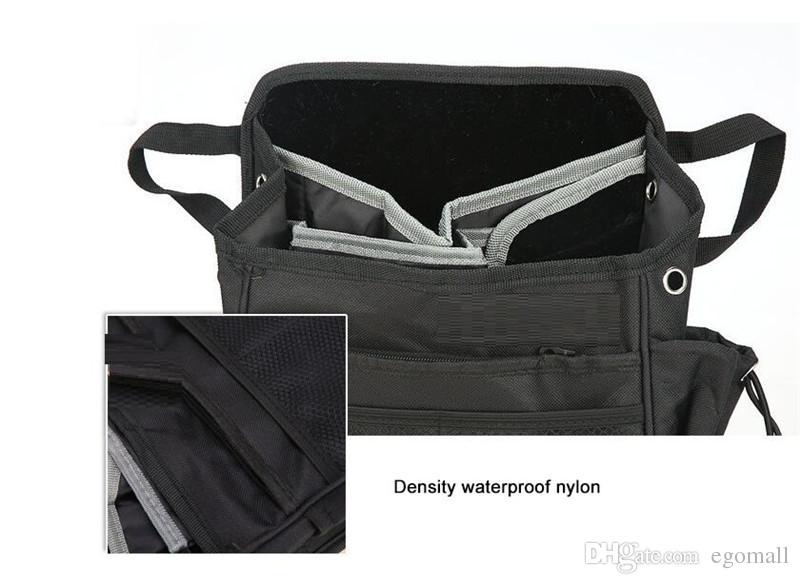 Oto Araba Ön Arka Koltuk Cepler Organizatör Sürücü Çanta Omuz Çantası Su Geçirmez Kapak Ile Araba Styling Siyah
