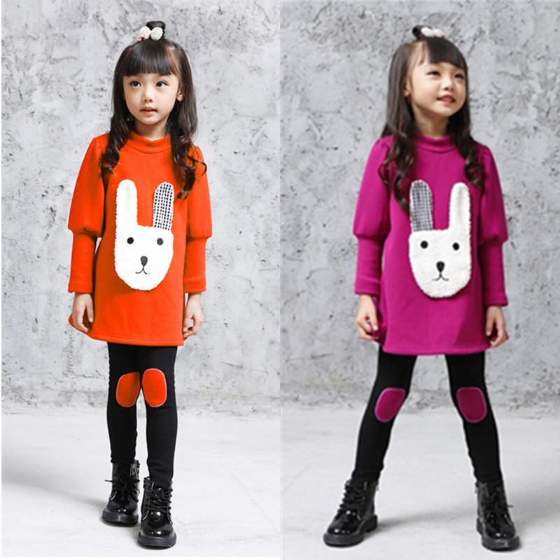 V-tree meninas esporte terno conjunto de roupas para a menina outono crianças agasalho manga comprida camisa + calças crianças roupas conjuntos 3-12 anos