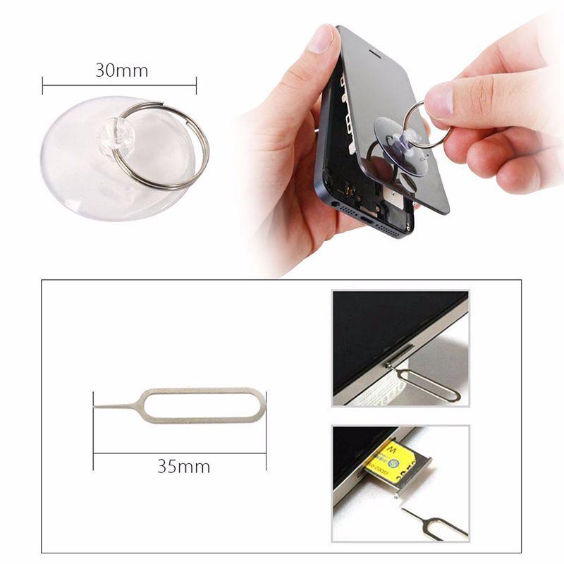 11 in 1 Schraubendreher Tool Kits Handy Reparatur Ersatz-Tools Set für iPhone Samsung Sony Motorola LG BlackBerry Nokia Huawei