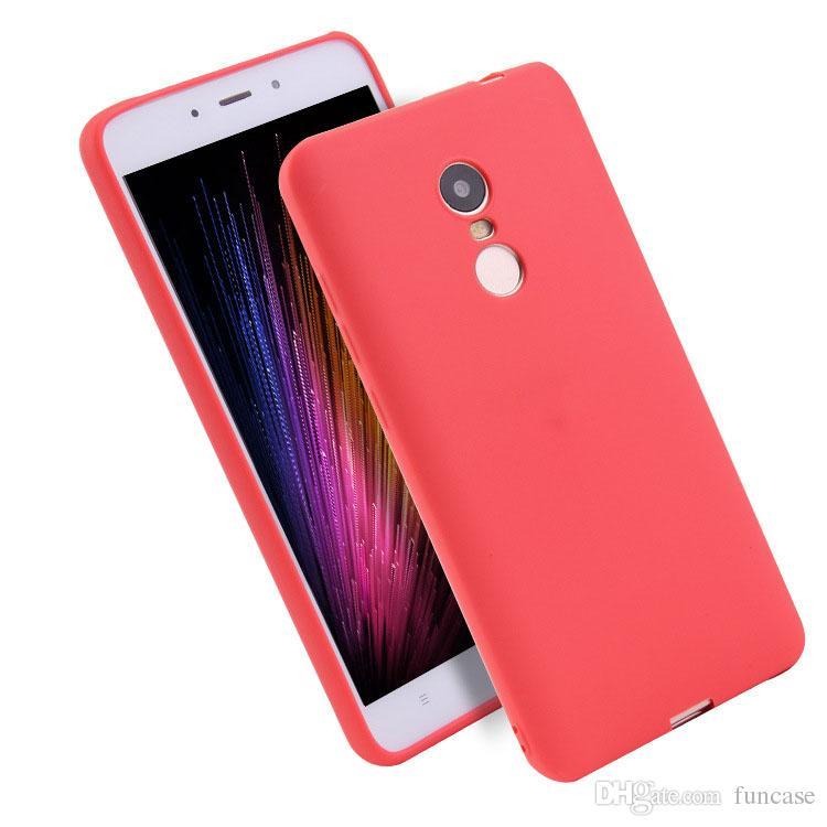 0bd570f47bc Compre Ultra Slim Doce Cor Fosco Fosco Macio TPU Silicone Caso Capa De  Borracha Da Pele Para Xiaomi Redmi 7 6 Pro 6a 5a 4x Ir A2 Lite S2 Y2 Y1  Nota ...