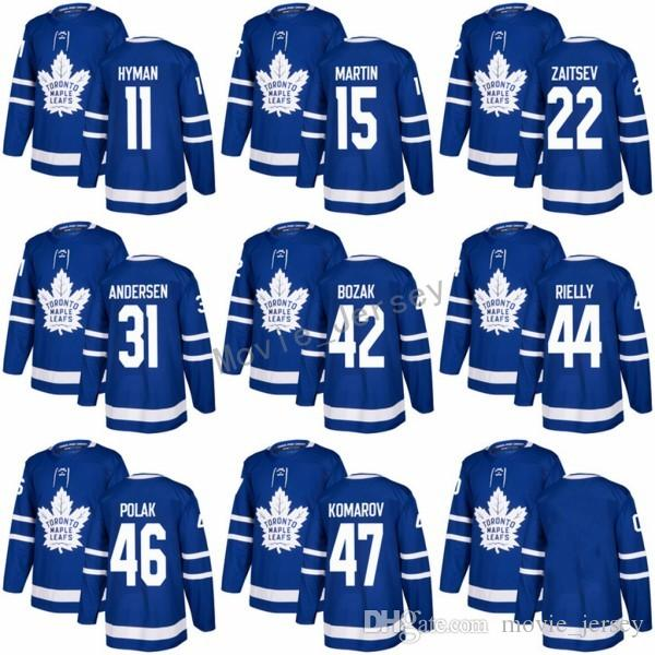728fdd93a7b ... low price discount 2018 new style 22 nikita zaitsev jerseys toronto  maple leafs custom 11 zach