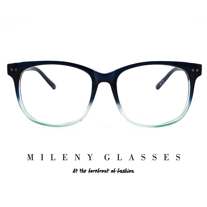 2018 new European and American PC glasses frame ultra light retro ...