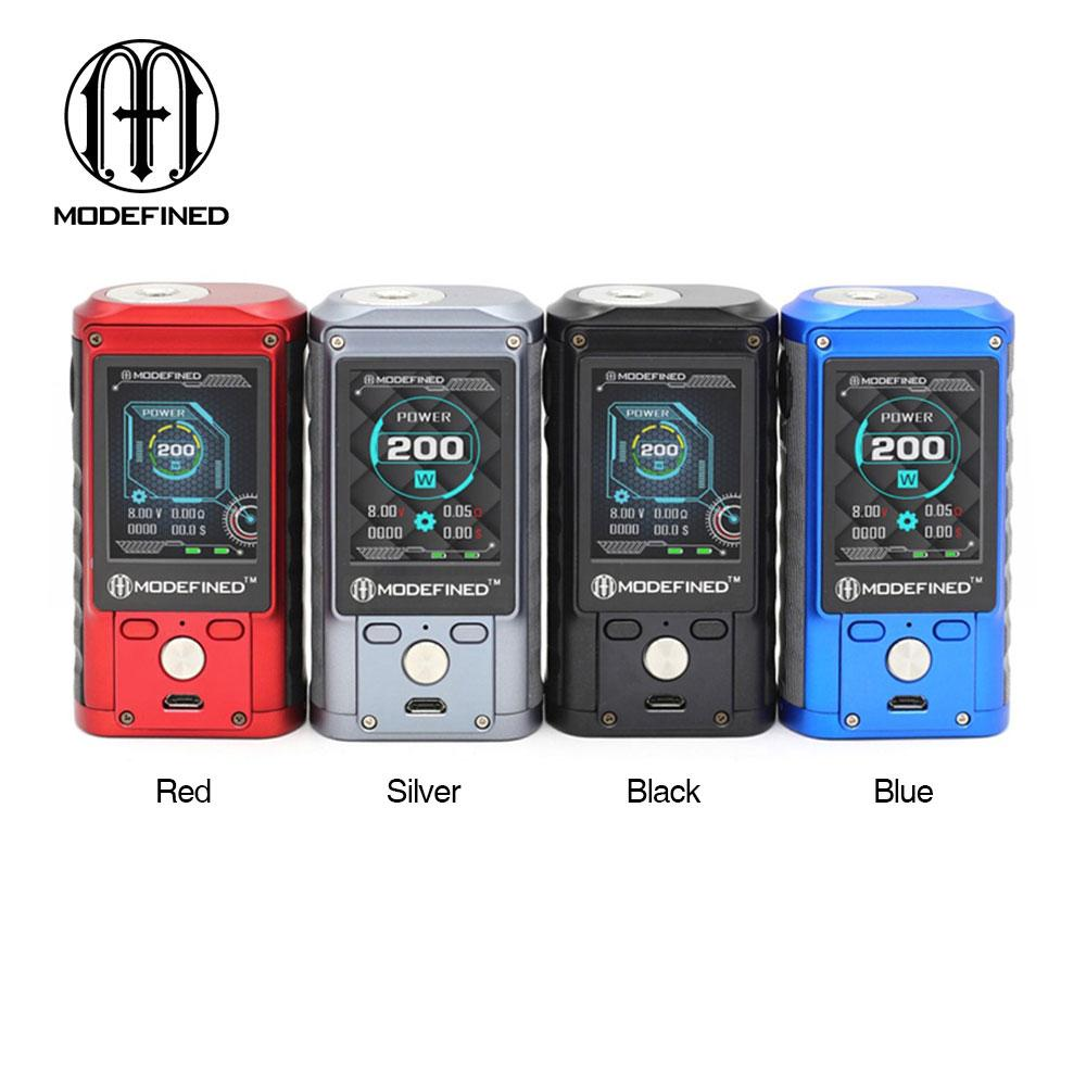 Modefined Draco 200W TC Box MOD with Big 2 0-inch full Color Screen 200W  Max Output NO Battery TO US