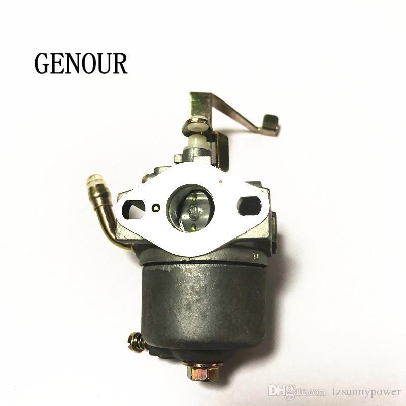 Nuevo carburador carburador para ET650 ET950 JD950 pequeñas piezas de repuesto del generador, 1E45 2 tiempos 650W 800W Generador carburador envío gratis