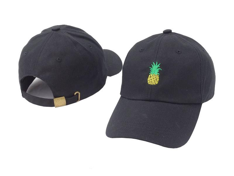 VORON New Pineapple Embroidered Baseball Cap Funny Fresh Fruit Hipster Hat  Pineapple Dad Hat Baseball Cap Peaked Letter Cap Flat Caps For Men Womens  ... ad0e50ab881