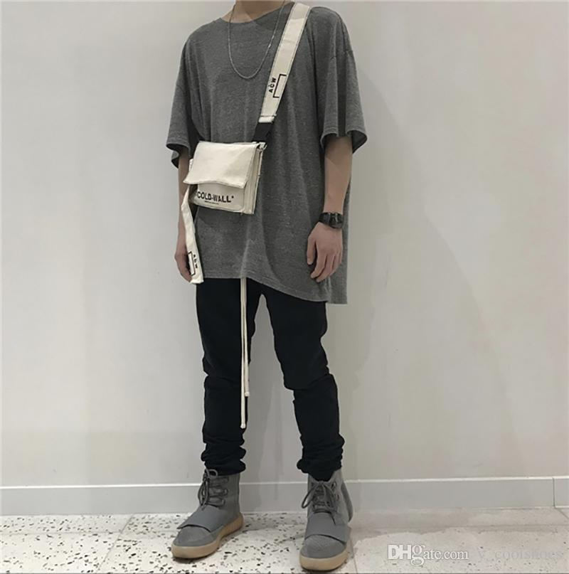 4c78a13b73 18SS ACW A COLD WALL Canvas Waist Bag Fashion Brand Shoulder Bags Men Women  Shopping Travel Small Pack Pocket HFTTBB003 Designer Bags Wallets For Women  From ...