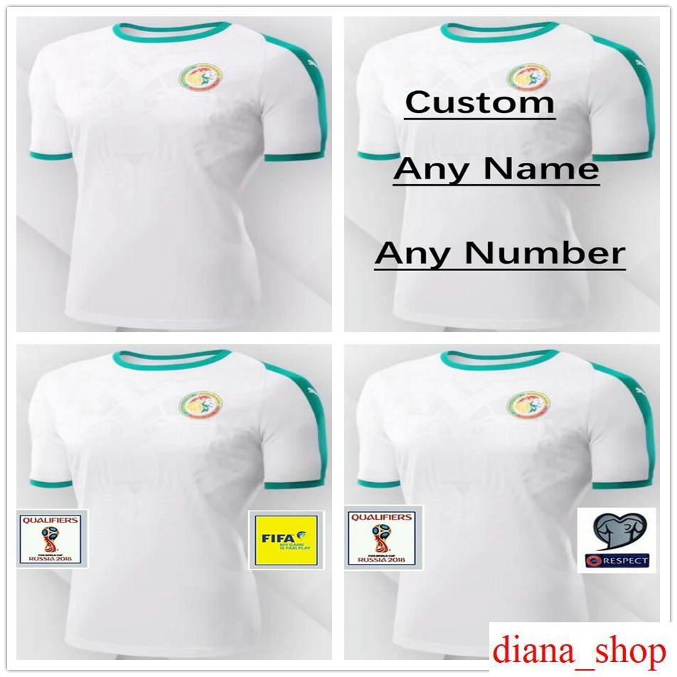 online cheap 2018 world cup senegal jerseys 10 mane blank customized any name number home green cust