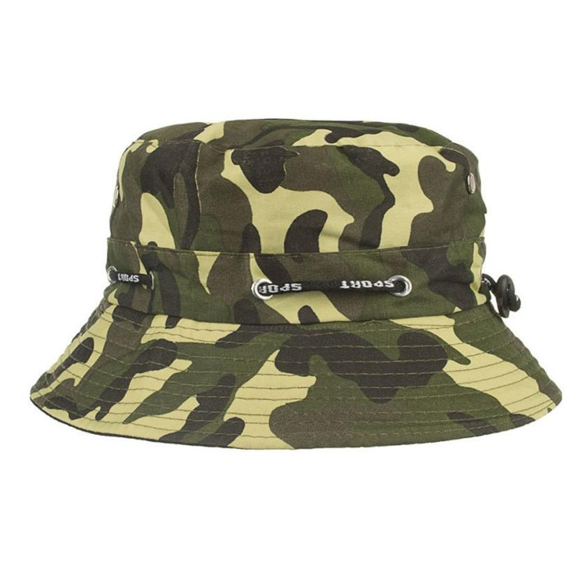 de8d3cfb123 Unisex Adjustable Casual Adjustable Cap Camouflage Boonie Hats Nepalese Cap  Army Mens Fisherman Hat Baby Sun Hat Summer Hats For Women From Yongq