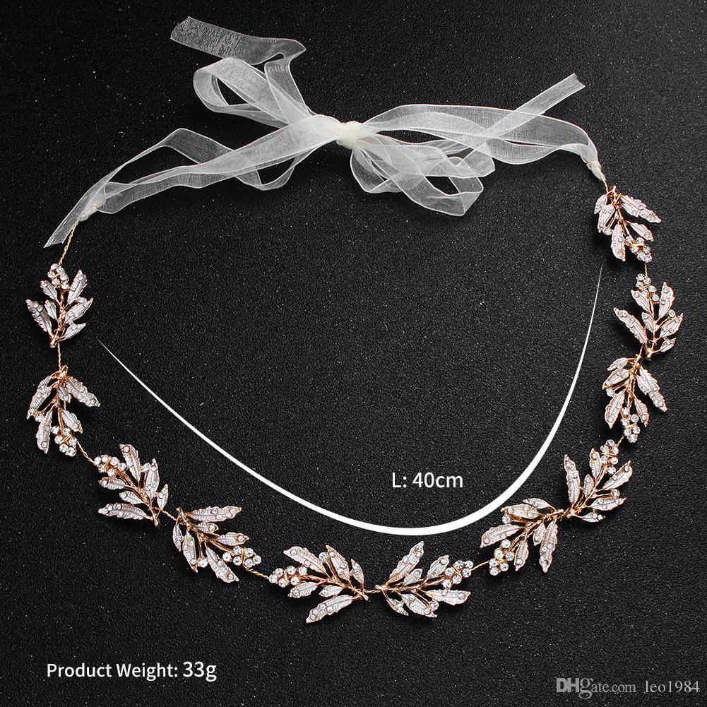 Hot Style Bridal Headdress Alloy Leaves Hand-cut With Amazon Wedding Dress  Accessories Hair Accessories Hair Band Online with  10.28 Piece on  Leo1984 s ... 1f821c8d546