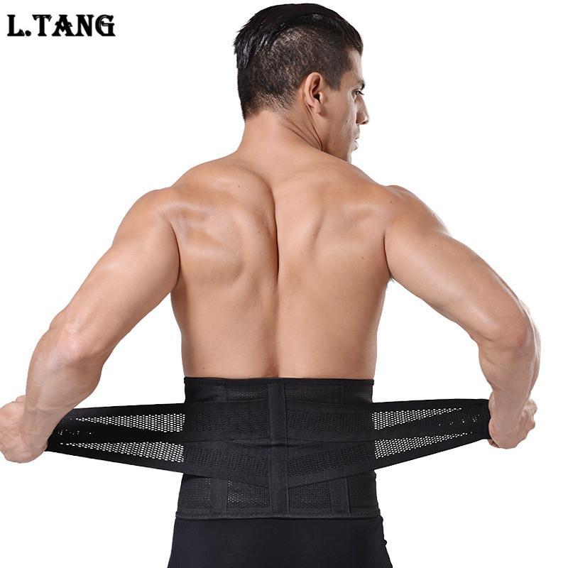 Acheter Sports Fitness Taille Soutien Lombaire Unisexe Gym Noir Taille  Ceinture M Xxxl S495 De  20.7 Du Fopfei   Dhgate.Com 65247f94112