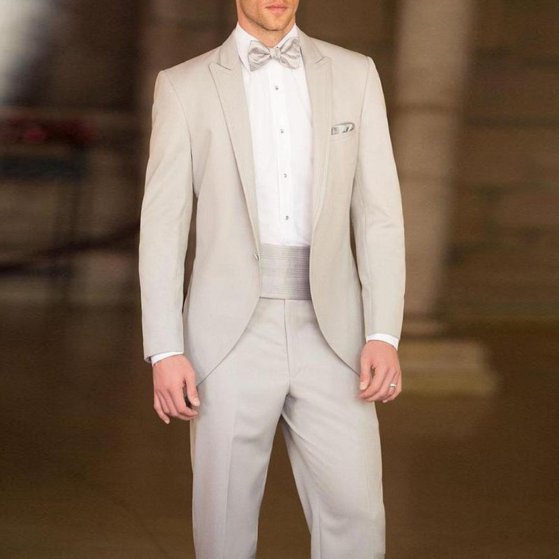 Matrimonio Vintage Uomo : Acquista 2018 abito beige da uomo matrimonio vintage giacca classica