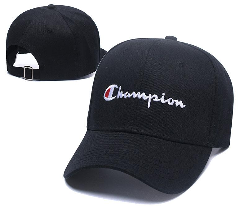 6ac555ac69d 2019 2018 New Champion Caps Fashion Embroidery Hats Top Quality 100% Cotton  Strapback Cap Popular Casual Hat Couple Cap Adjustable Baseball Hat From ...