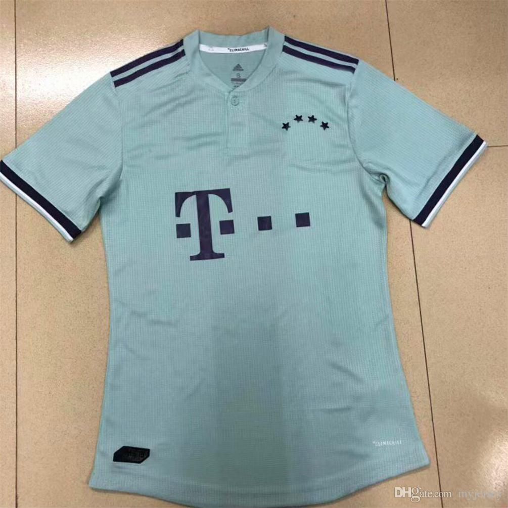 36d0f2996e28a Camiseta De Fútbol Bayern Munich 18 19 GORETZKA ALABA VERSIÓN PARA JUGADOR  2018 Müller RIBERY ROBBEN LEWANDOWSKI Camisetas De Fútbol Uniformes De  Fútbol ...