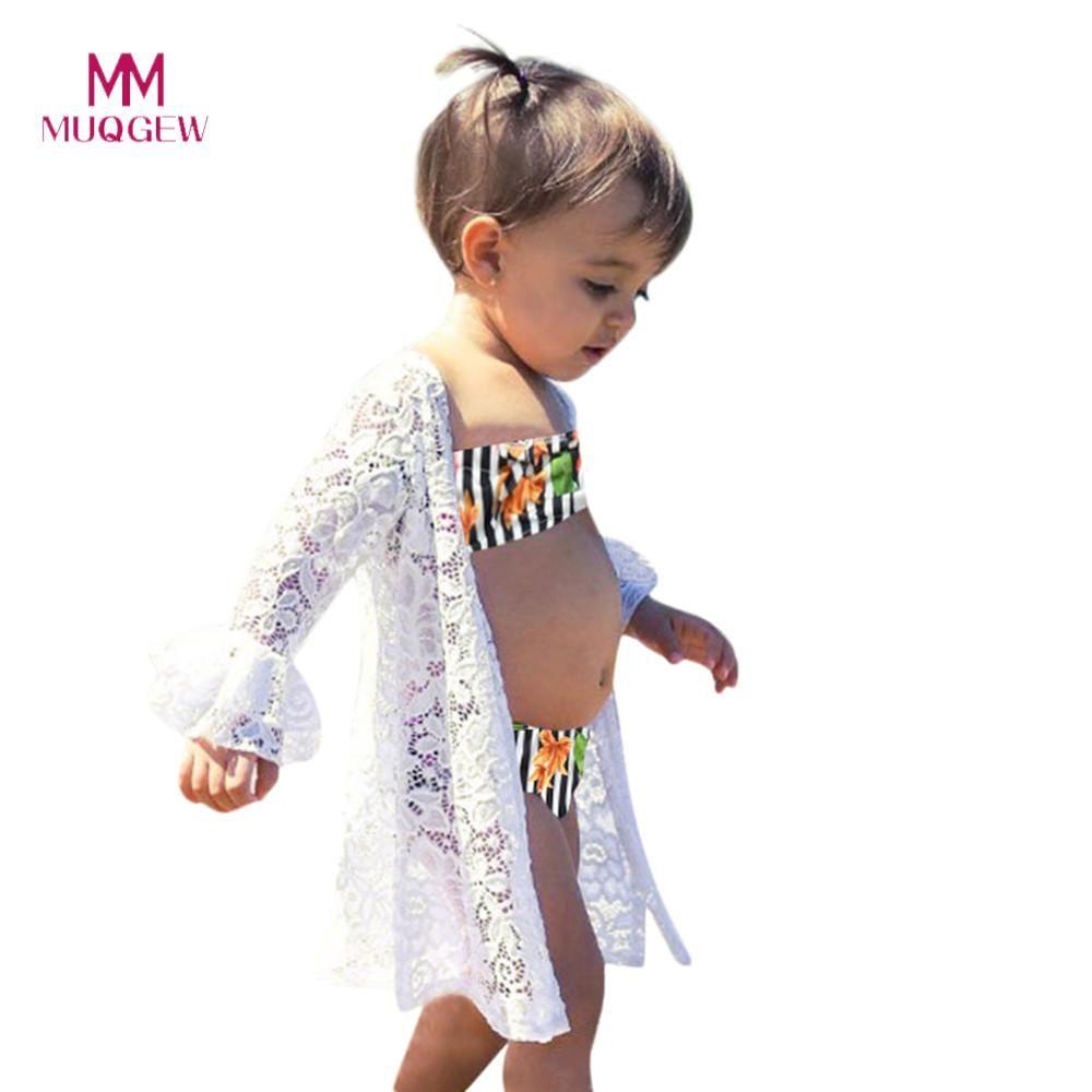 660e79983f3e 2019 Sweet Baby Girls Clothes Summer Children Kids Girls Swimwear ...