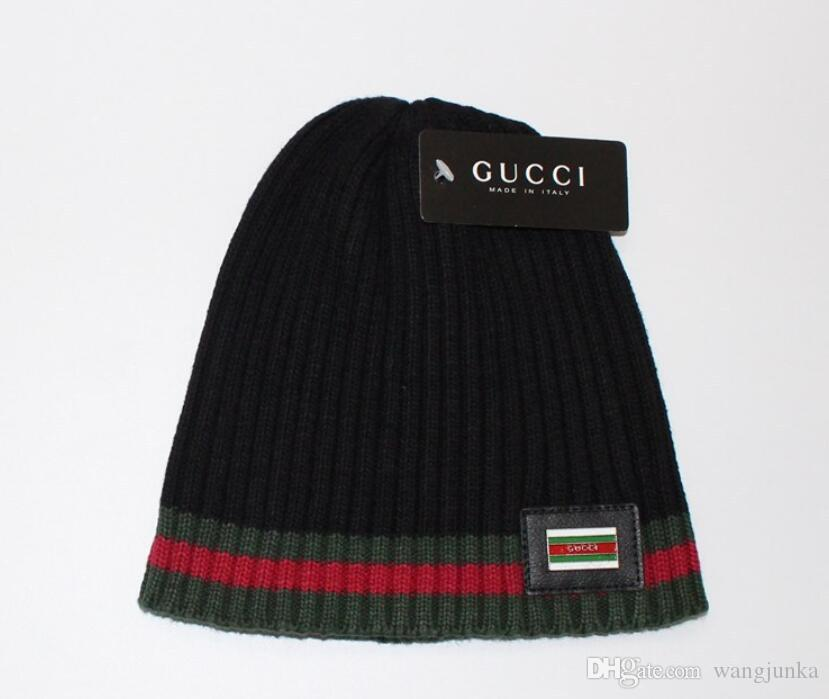 2018 Autumn Winter Hats For Women Men Brand Designer Fashion Beanies ... 99555b4009