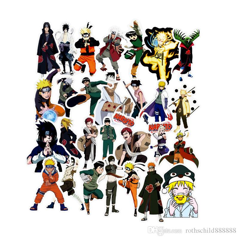 2019 /Pack Mixed Naruto Anime Sticker For Car Laptop