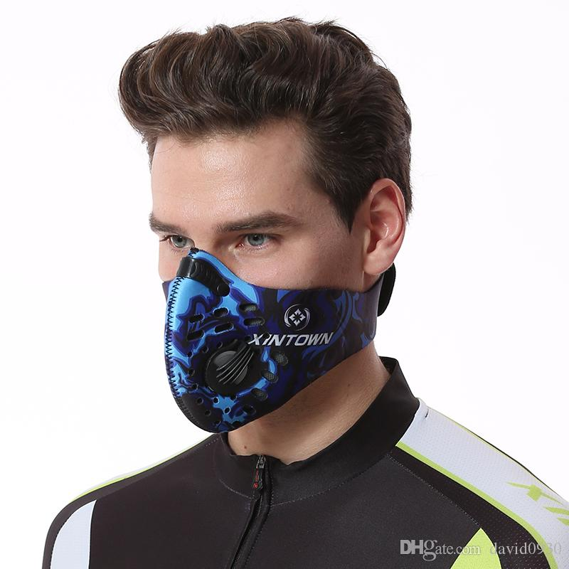 56a9e374 2019 Men/Women Activated Carbon Dust Proof Cycling Face Mask Anti Pollution Bicycle  Bike Outdoor Training Mask Face Shield From David0930, $5.53 | DHgate.