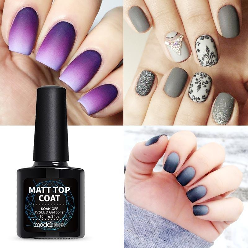 Modelones high quality matte gel nail polish top coat diy nail style modelones high quality matte gel nail polish top coat diy nail style gel polish finish tips uv matte top coat nail gel overlay artistic nail gel from solutioingenieria Image collections