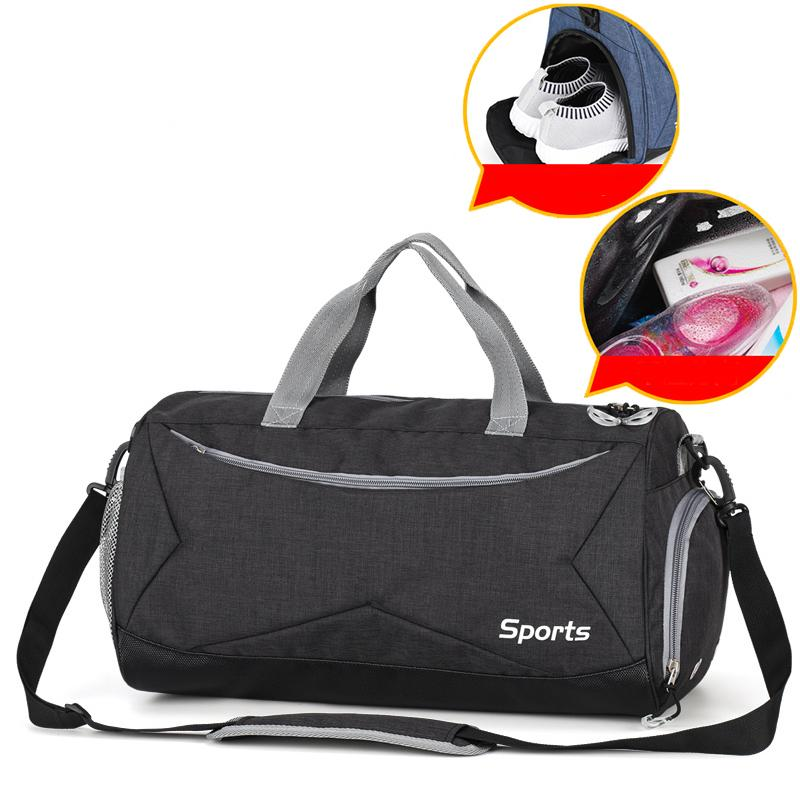 92cac4c70f35 2019 Men Gym Bag For Training Travel Outdoor Sports Bags For Women Fitness  Dry Wet Separation Swim Yoga Bags Bolso Gym Tas Backpack From Enjoyweekend