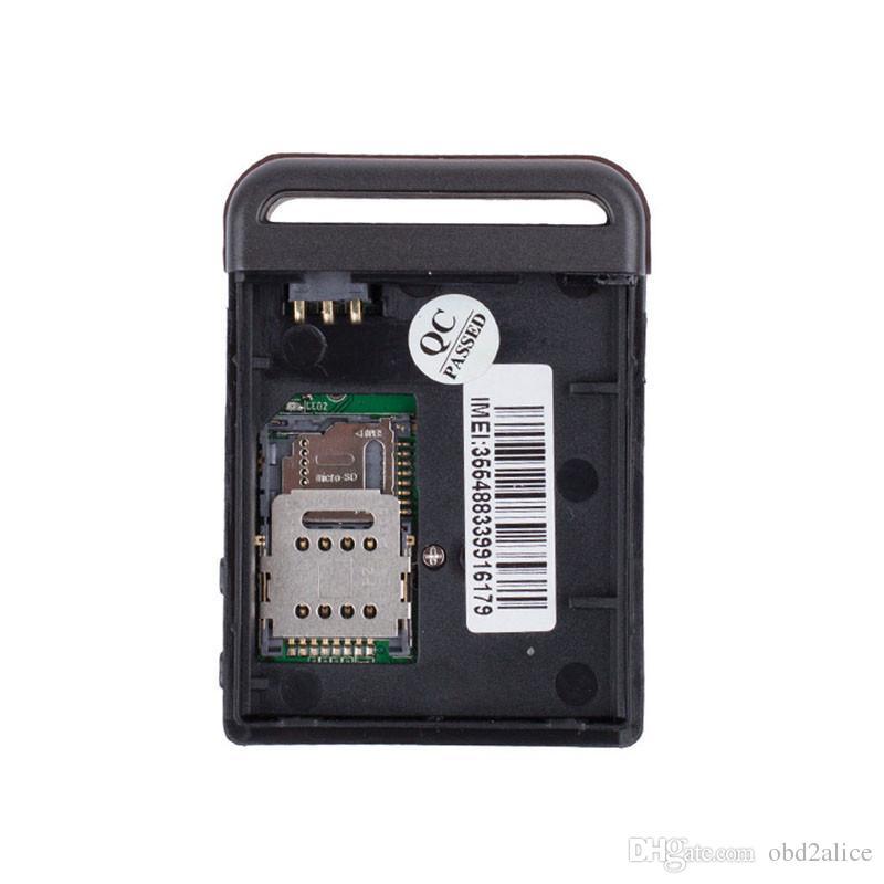 Новое прибытие высшего качества мини GPS / GSM / GPRS автомобиля автомобиля трекер Tk102b в реальном времени устройство слежения человек трек устройство dhl