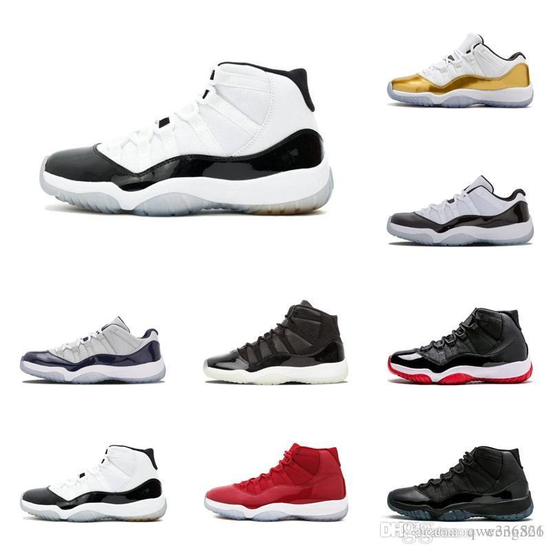 9c6ff5796bca 11s Prom Night Basketball Shoes 11 Men Women Cap And Gown Gym Red Space Jam  Concord PRM Heiress Bred Gamma Blue Sports Sneaker Boys Sports Trainers  Toddler ...